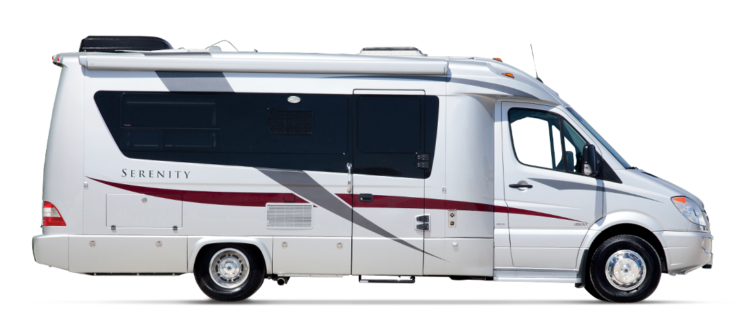 Explore The Serenity Class C RV By Leisure Travel Vans See Photos Videos Floorplans And More Of Luxurious Built On Mercedes Sprinter