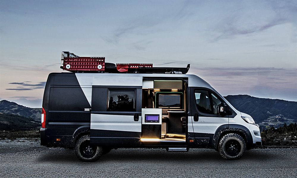 fiat ducato camper vans camping vw bus pinterest. Black Bedroom Furniture Sets. Home Design Ideas