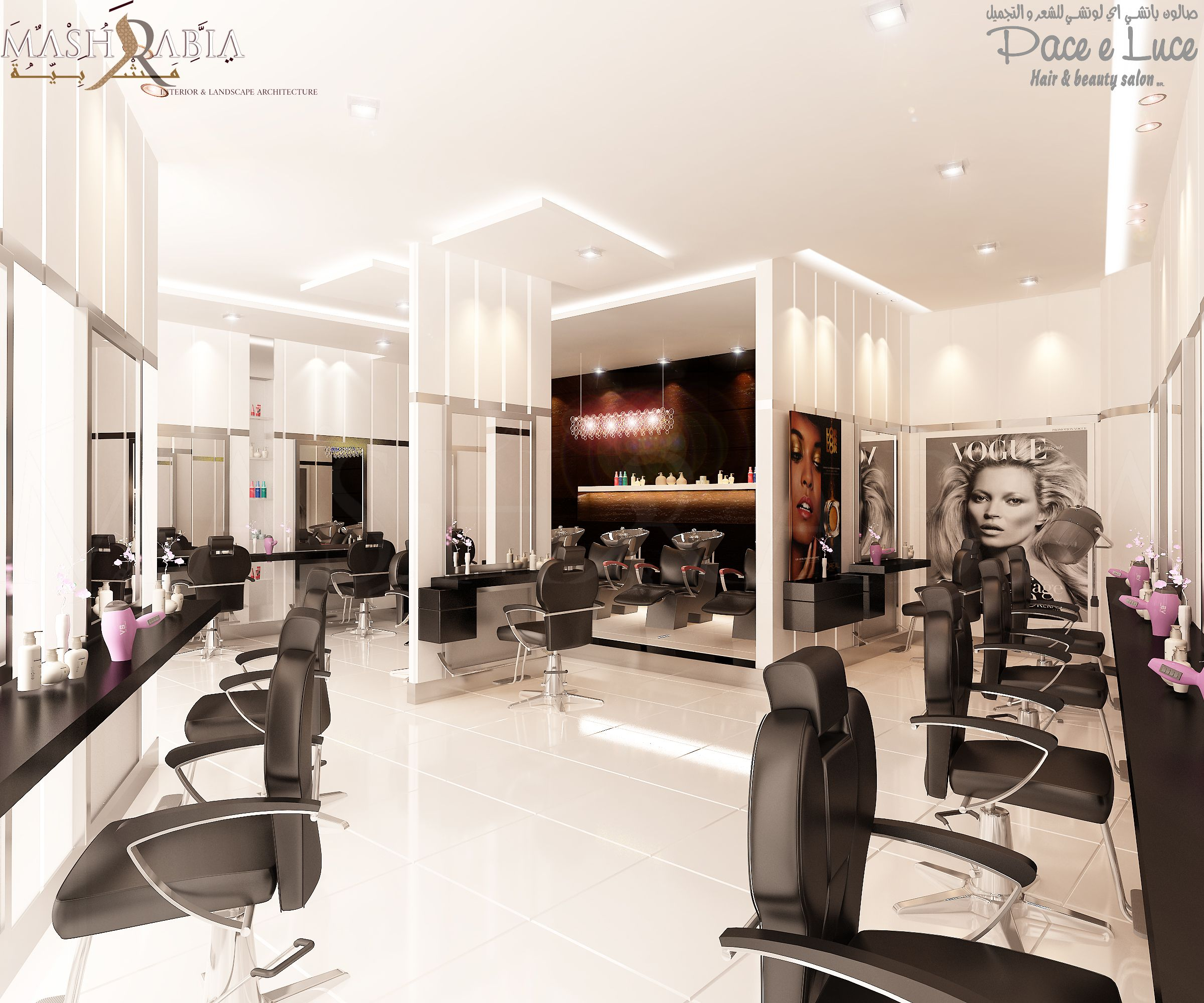 Paceeluce Pace e Luce Hair and Beauty salon White flooring