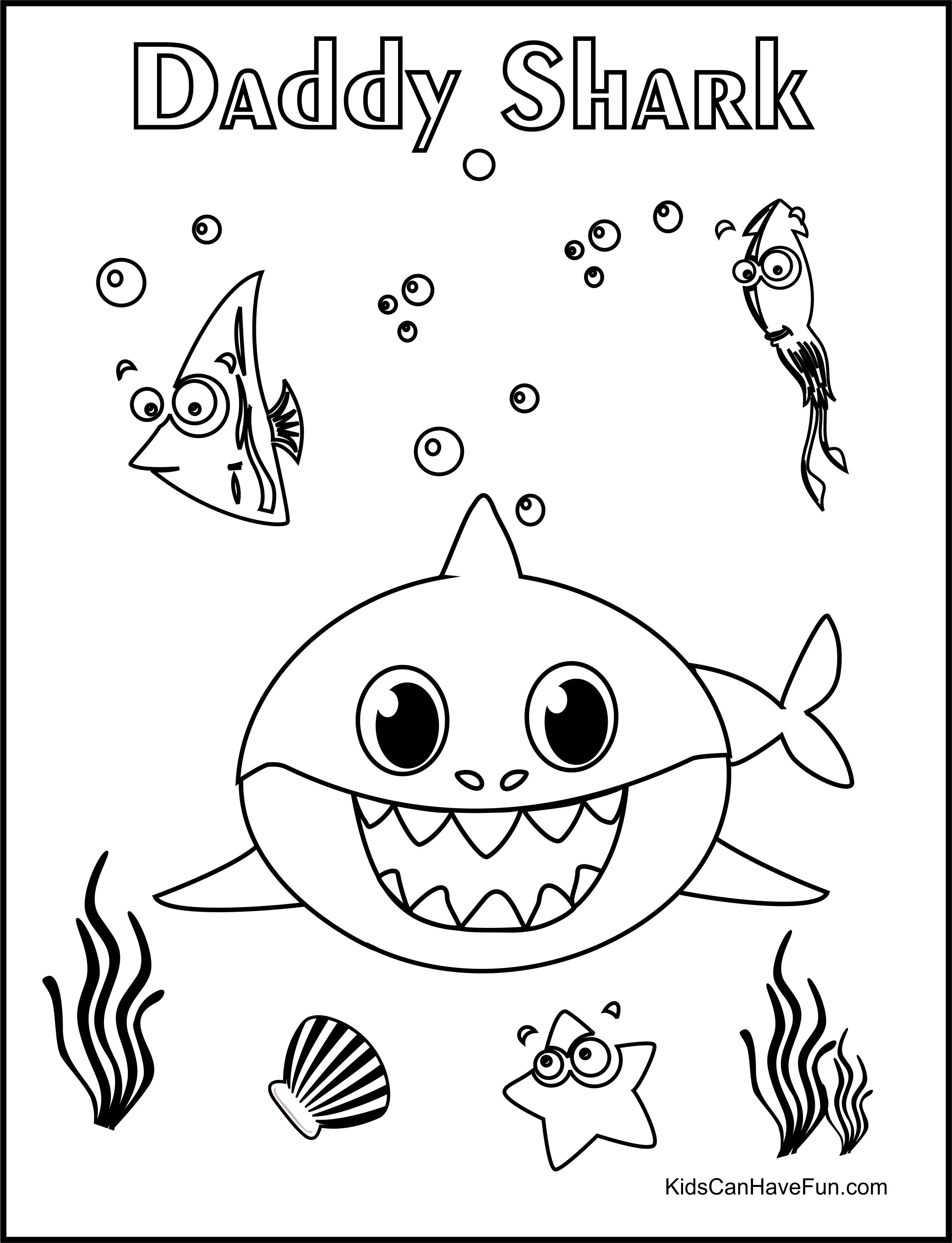 Pin En Free Baby Shark Printables Worksheets Diy S [ 3254 x 2492 Pixel ]