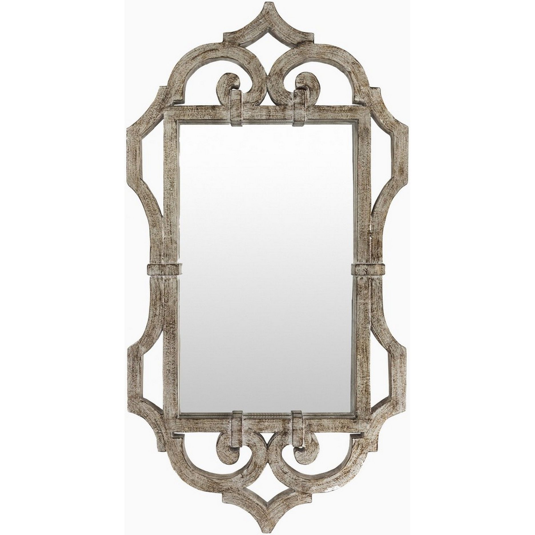 Overstock Com Online Shopping Bedding Furniture Electronics Jewelry Clothing More Silver Wall Mirror Ornate Mirror Mirror Wall Decor [ 1873 x 1873 Pixel ]