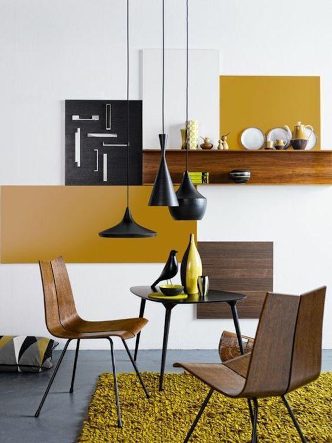 Deco Couleur Jaune Moutarde Blog Deco Decoration Interieure