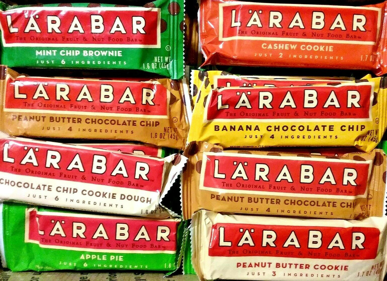 Larabars taste SO GOOD! Vegan. Certified gluten free
