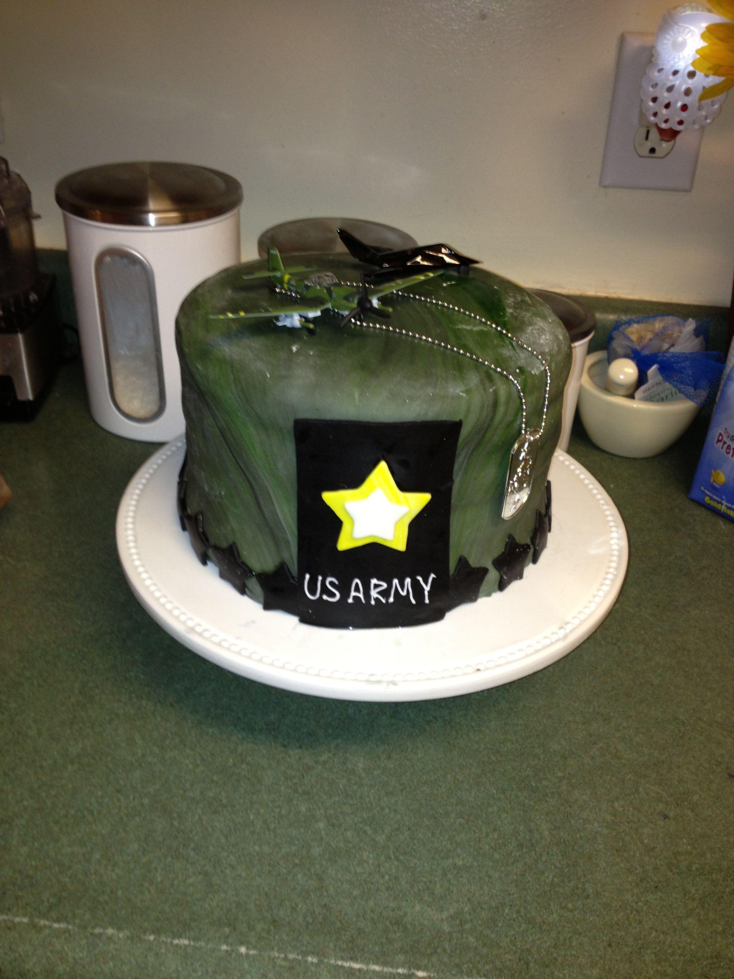 Caydens army birthday cake army birthday cakes armys