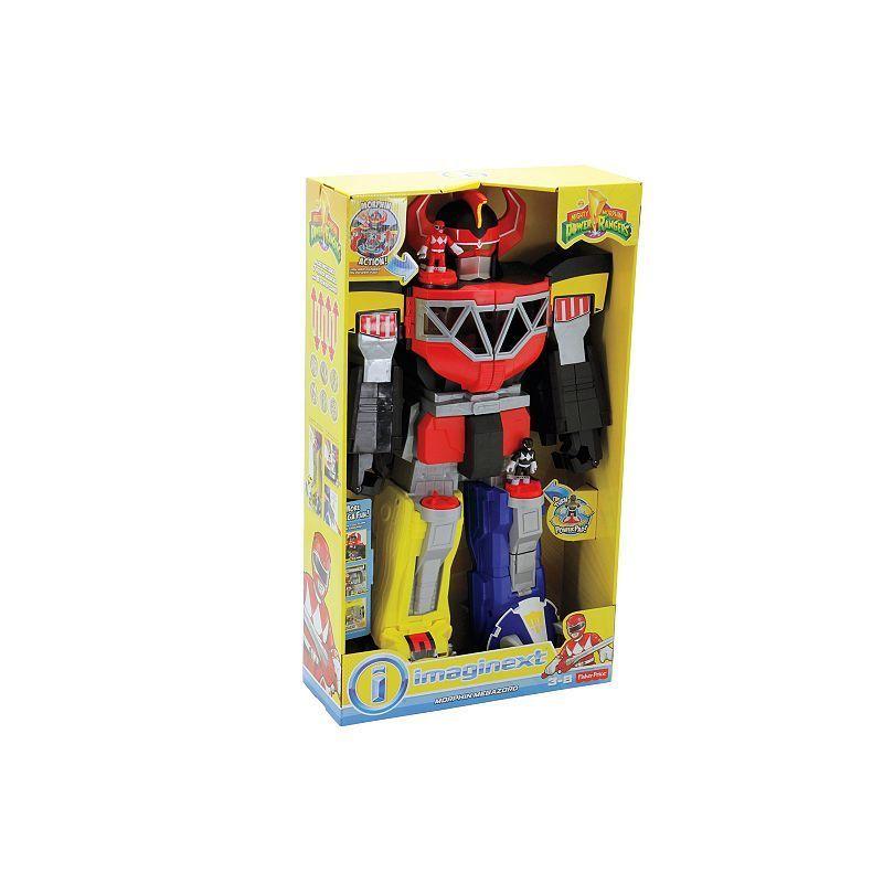 Imaginext Power Rangers Megazord Morphing