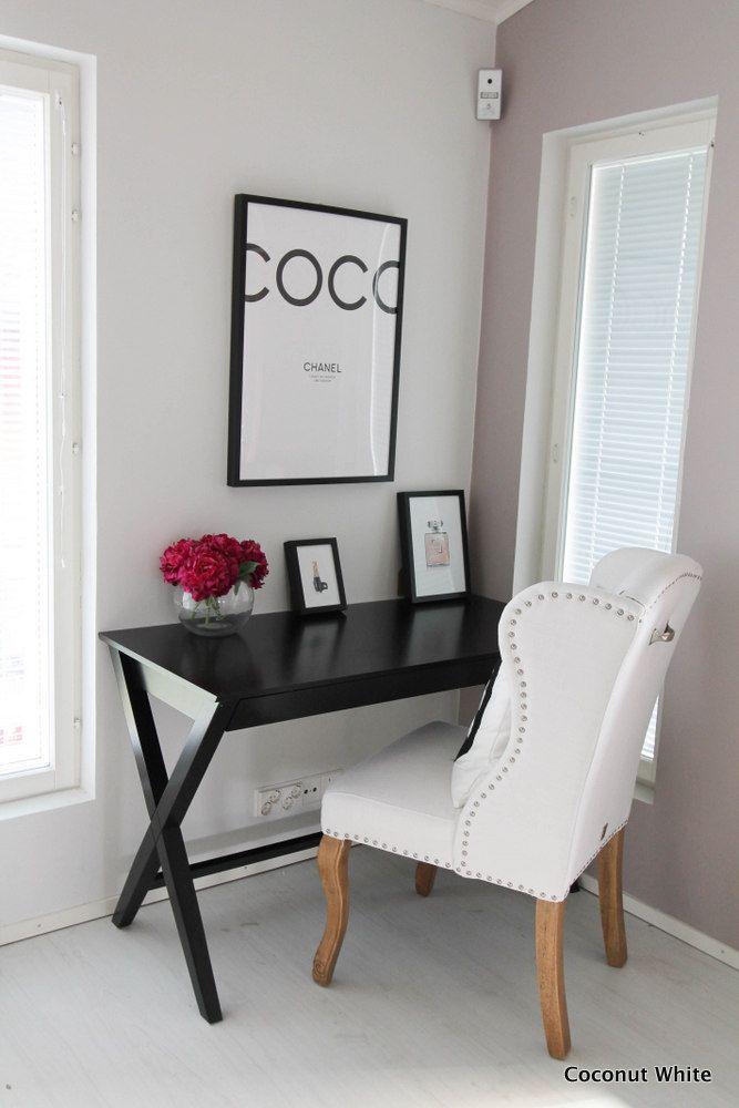 Coconut White: Työtilan päivitys - Riviera Maison Keith Dining Wing Chair