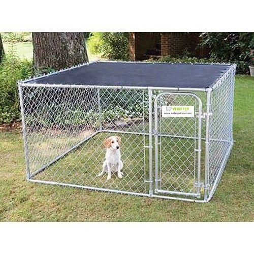 Sunblock Top For Petsafe Outdoor Chainlink Dog Kennel Runs