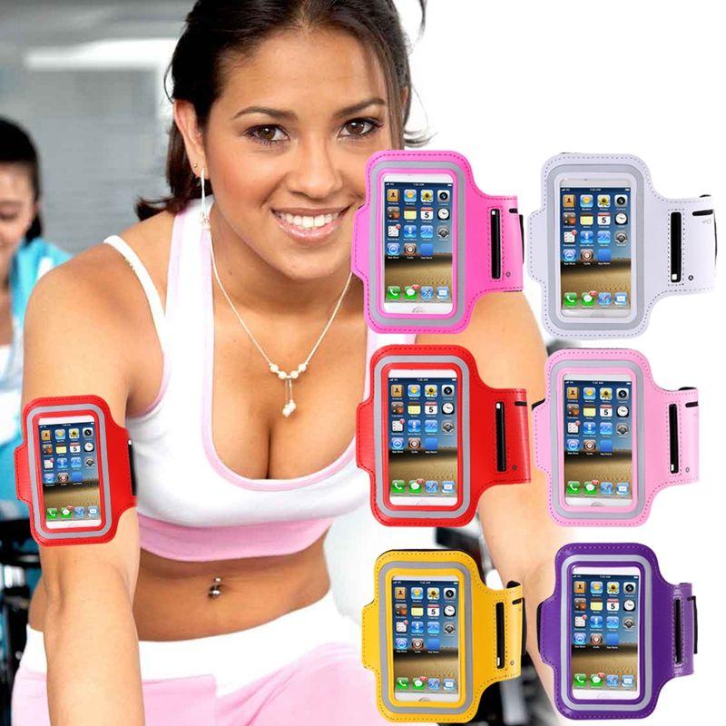 Running Arm Band Mobile Phone Holder Gym Armband