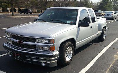 1996 Chevrolet Silverado C K1500 Stepside Used Chevrolet C K Chevy Trucks Custom Chevy Trucks Chevy Trucks Silverado