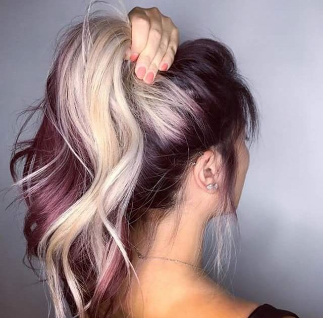 20++ Magenta and blonde hair ideas in 2021