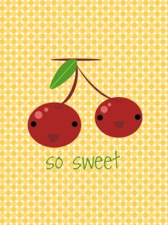 Cute Cherries Best Cute Cherry Abstract Wallpaper For Mobile Phone