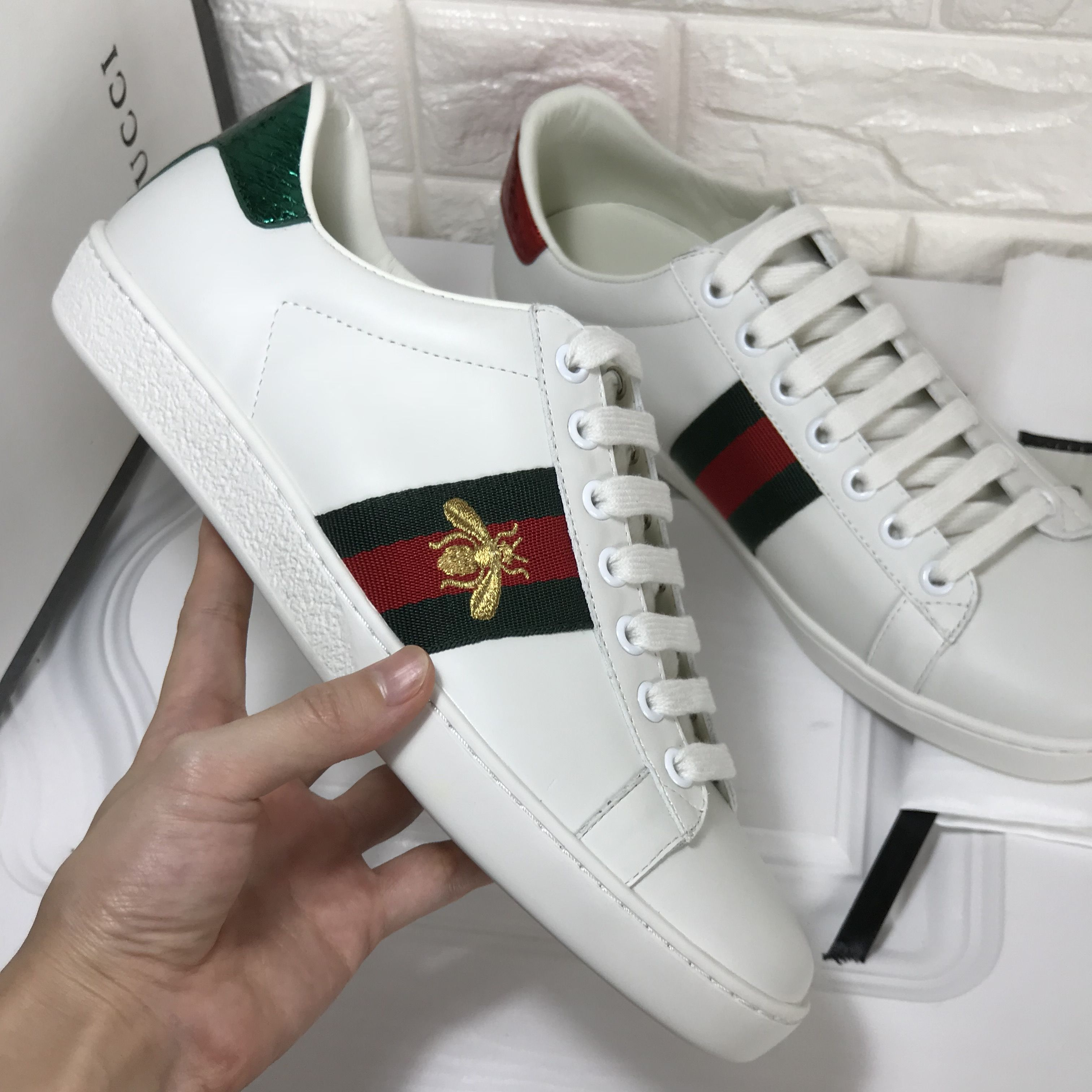 Gucci unisex woman man ace sneakers