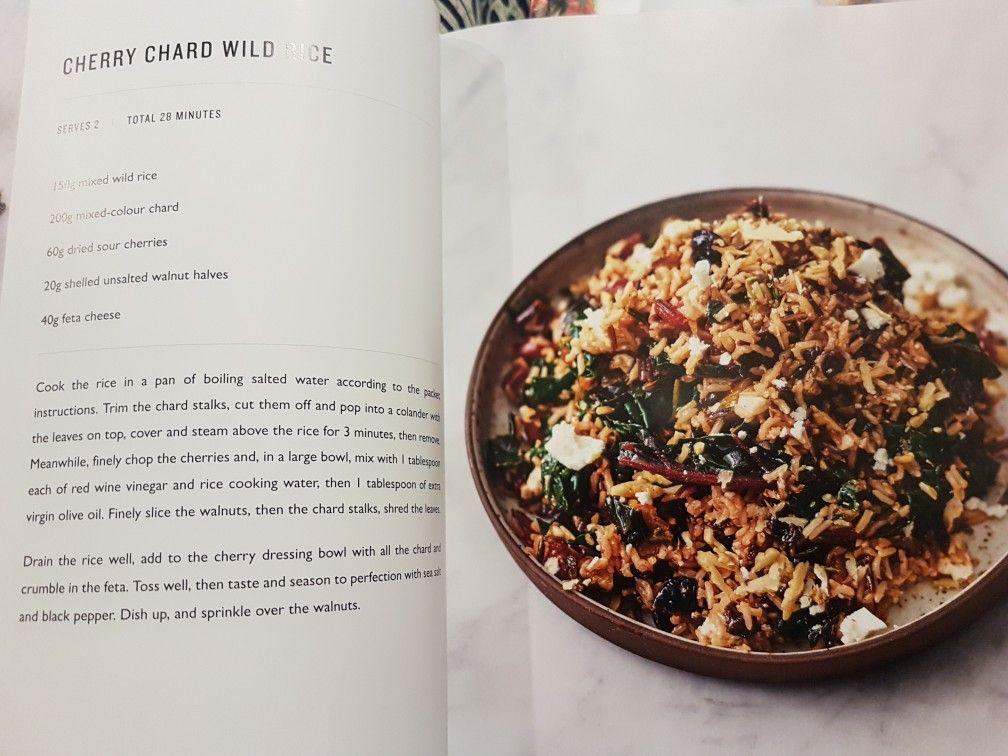 Weihnachtsessen Jamie Oliver.Cherry Chard Wild Rice Ep 2 7 Jamie Oliver In 2019 Wild Rice