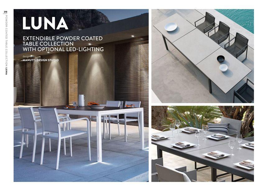 Manutti Catalogus 2017 Outdoor Decor Led Lights Table