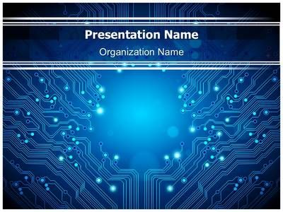 check out our professionally designed electrical circuit board, Presentation templates