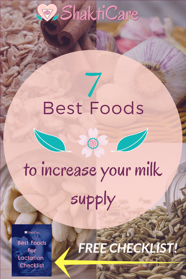 7 Best Foods To Increase Breast Milk  Shakticare -5316