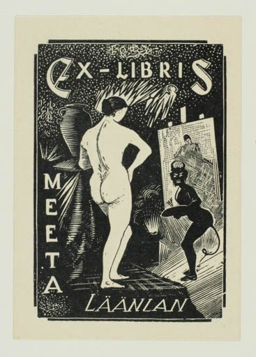 Art-exlibris.net - exlibris by Mihail Filippov for Meeta Läänlan