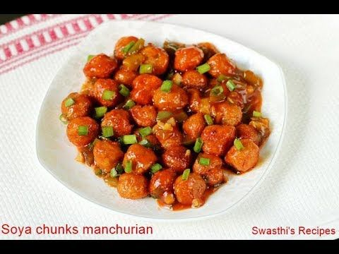 Soya chunks manchurian recipe video how to make soya manchurian soya chunks manchurian recipe video how to make soya manchurian vegetarian forumfinder Images