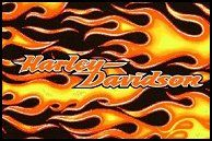 Harley Davidson Logo Stencil | ... Harley Bedroom   How To Paint Flames On