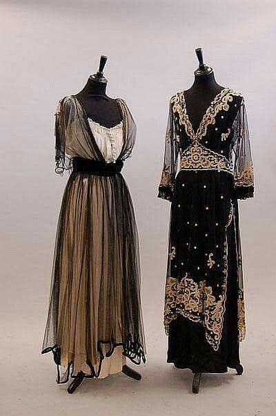 1914 Moda De Y La Ca 1918Modernismo EduardianaHistoria HWE9DIY2