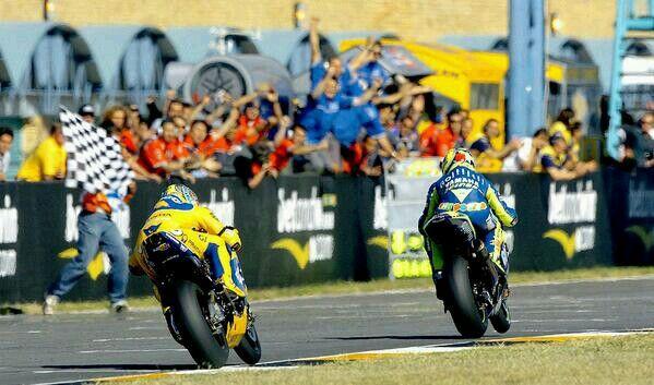 Biaggi Rossi welkom 2004