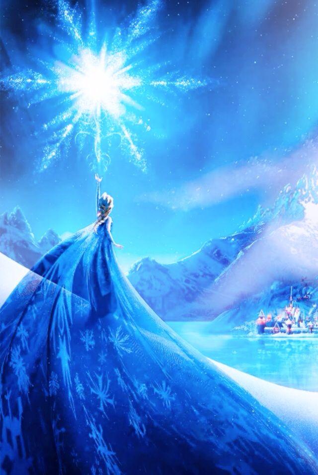 Elsa and Anna Wallpaper Frozen Wallpaper