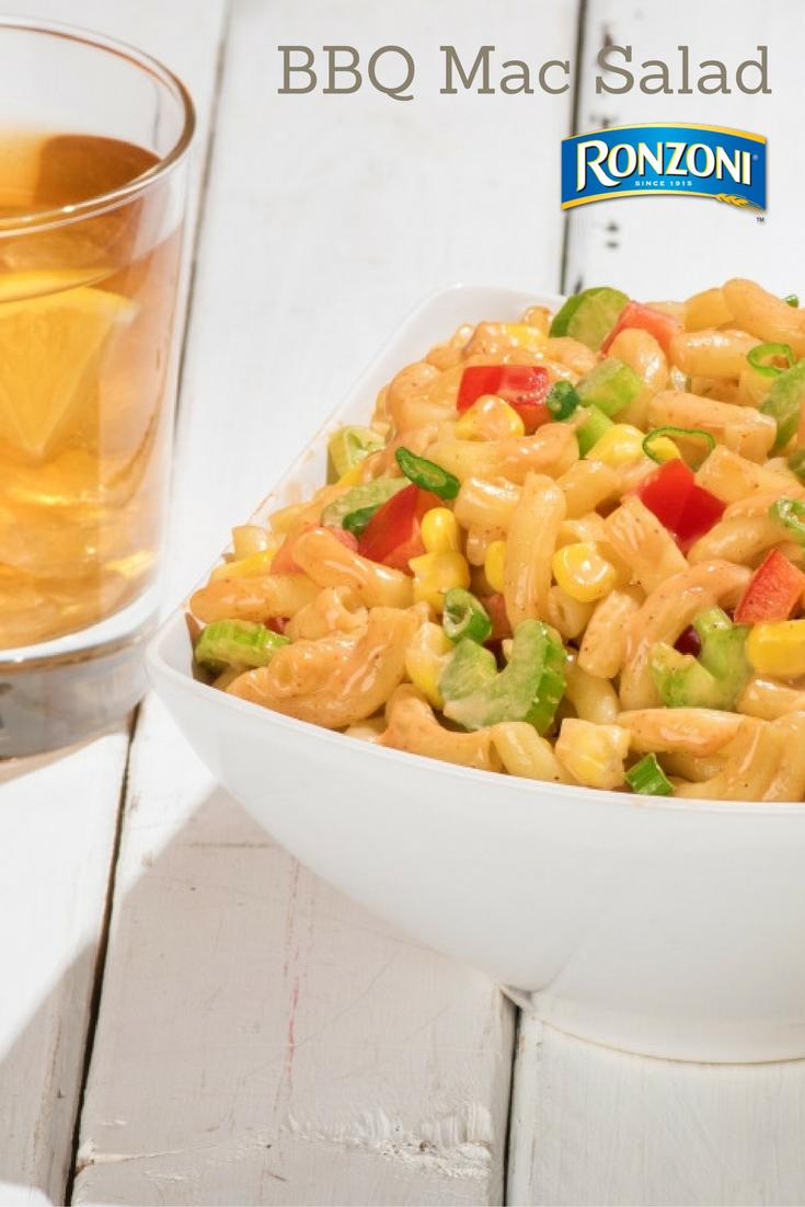 BBQ Macaroni Pasta Salad