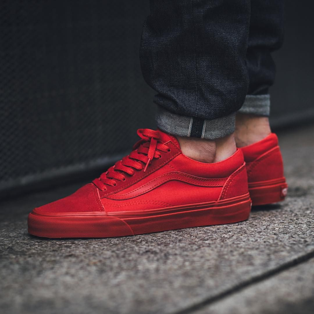 """ff6b5b9d94 Titolo Sneaker Boutique on Instagram  """"NEW IN! Vans Old Skool - True Red  available in-store and online  titoloshop Berne"""