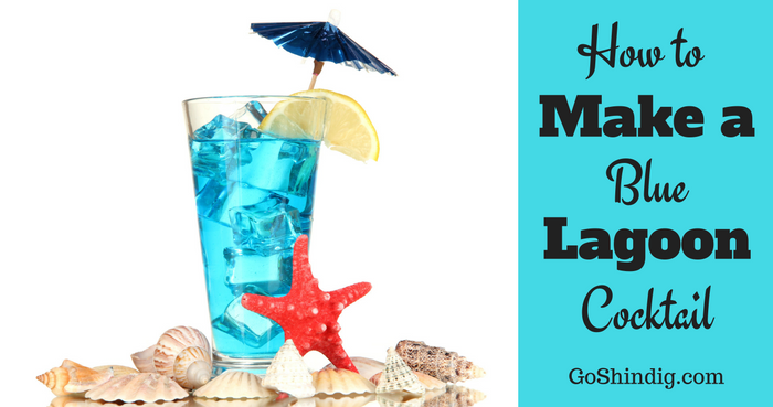 How To Make A Blue Lagoon Cocktail Drink Blue Lagoon Cocktail Cocktails Blue Lagoon