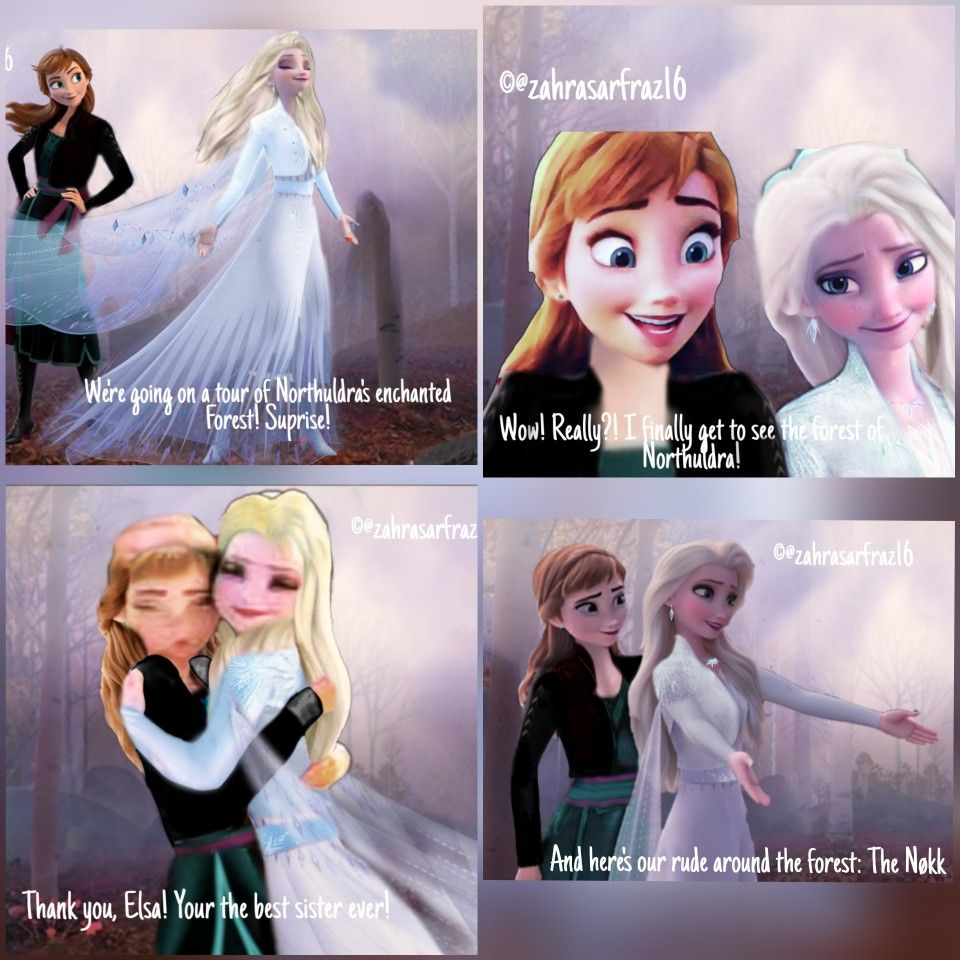 Frozen Ii The Snow Queen Part 3 Disney Princess Art Frozen Elsa And Anna Frozen Disney Movie