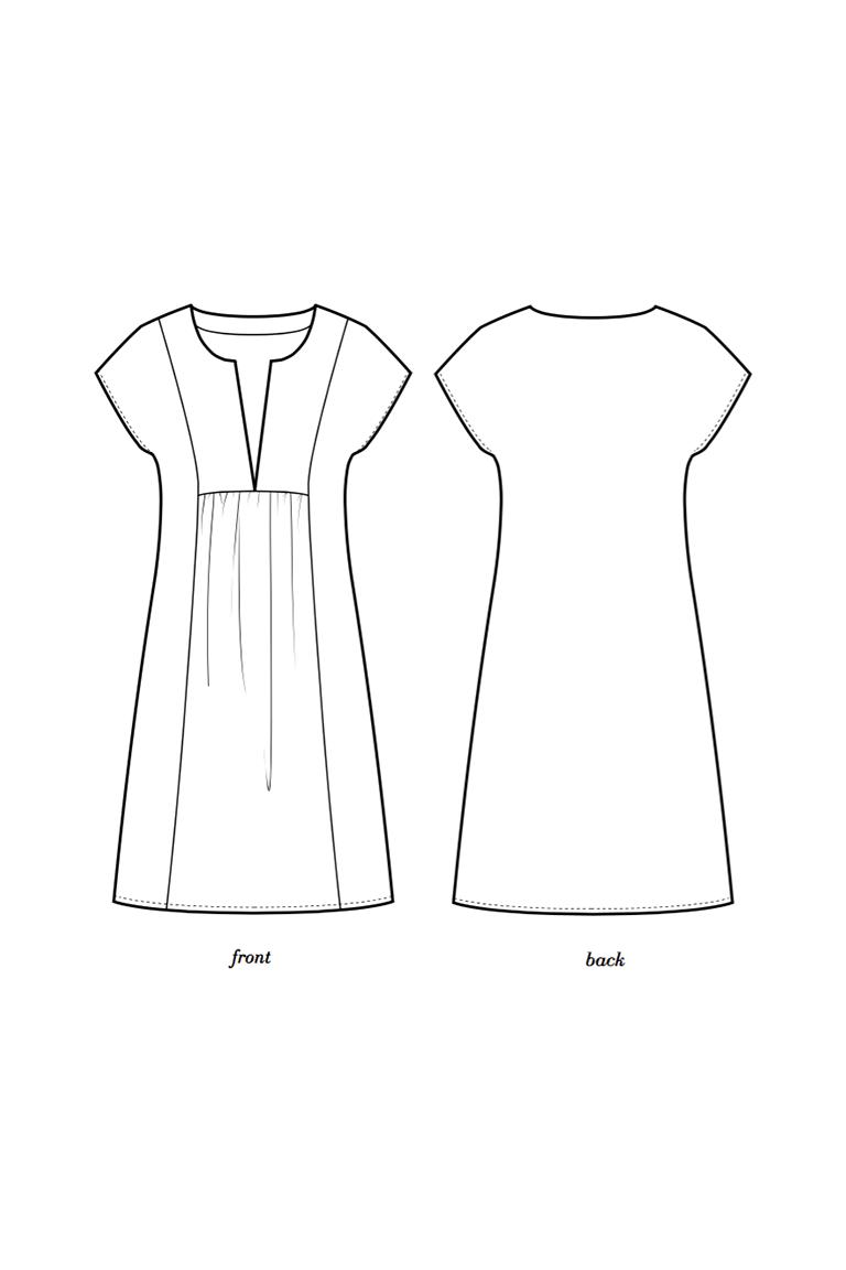 Colette frock pattern – Mojave, une robe d'été parfaite.   – Sewing