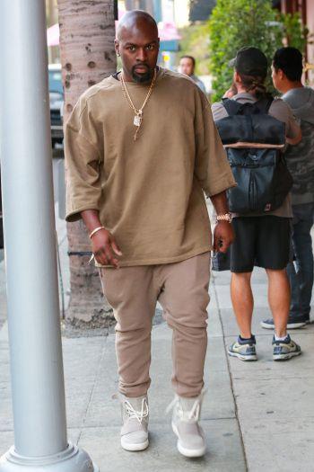 1d966601e7ce8 Celebrities Wearing Yeezy Boost Sneakers  Corey Gamble