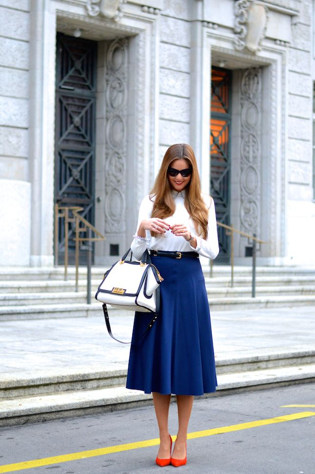 fb4f0910c9 Lara Caspari: Professional and Chic Fashion for Business Women | work  outfit | Fashion, Chic, Types of fashion styles