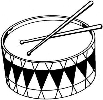 Drums Coloring Page Super Coloring Aula De Musica