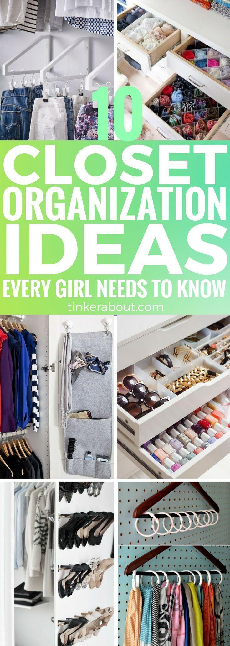 Closet Organization Ideas To Keep Your Bedroom Organized House