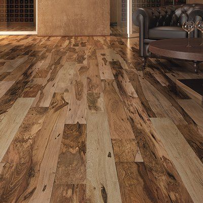 Indusparquet 3 1 4 Engineered Pecan Hardwood Flooring In Brown Casas