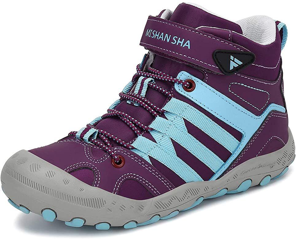 Amazon.com   Mishansha Kids Boy's Child Hiking Boot Waterproof Anti Skid  Lightweight Outdoor Walking Trekking Shoes Pink 1…   Boots, Hiking boots, Kids  hiking boots