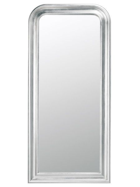Espejos de suelo para el vestidor decoraci n espejo de - Espejos con marco plateado ...