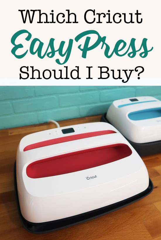Which Cricut Easy Press Should I buy? #CricutMade #EasyPress #CricutEasyPress