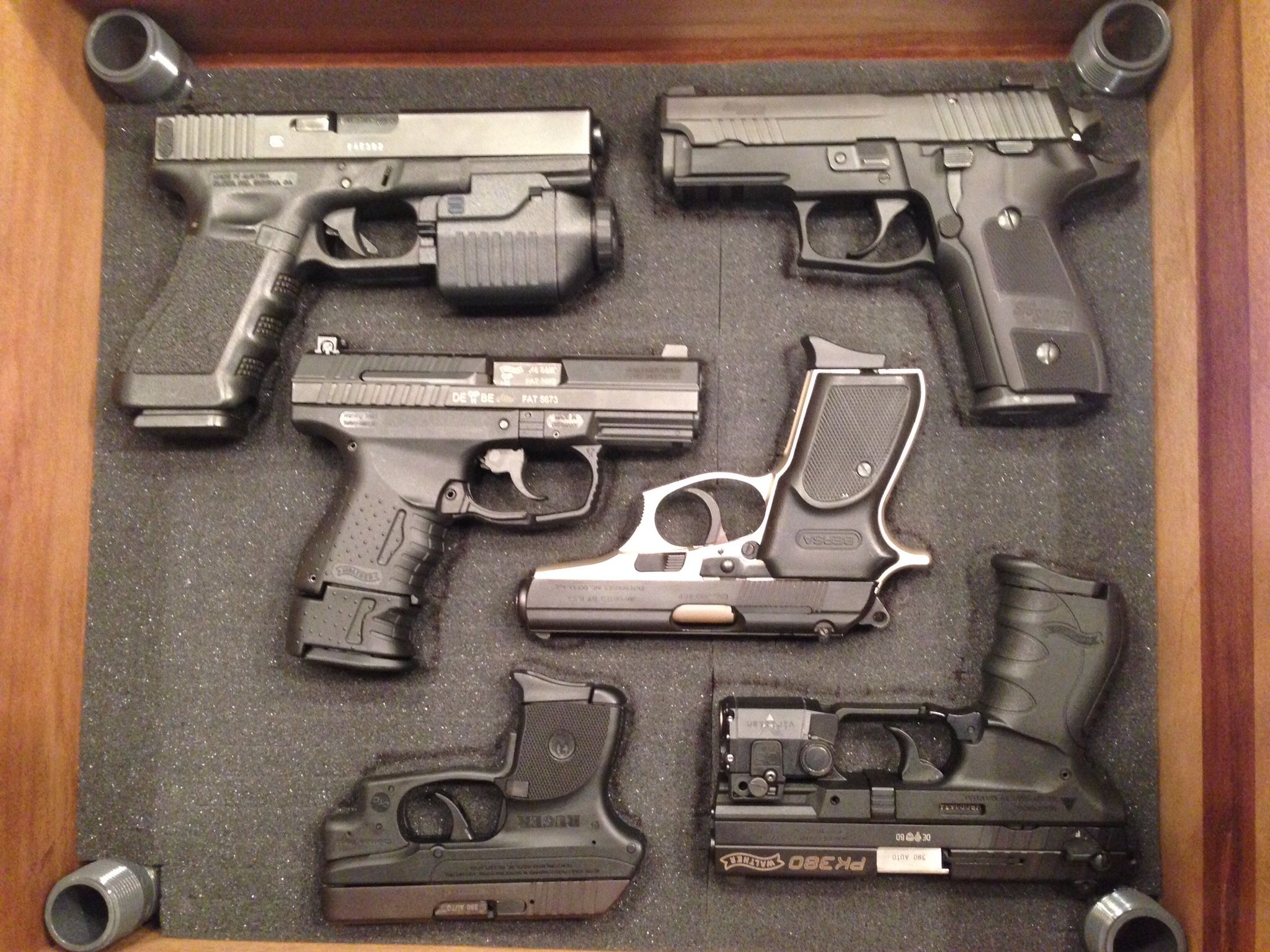 Nice Collectionglock 31 Sig 229 Walther P99 Bersa Thunder