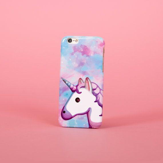 Unicorn emoji space rainbow iPhone X case - iPhone 8 case