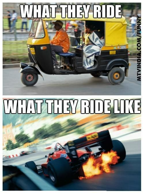 Image result for very slow rickshaw meme