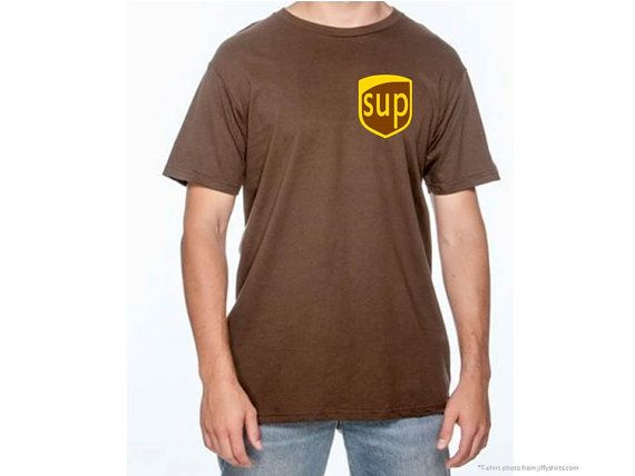 UPS Man Costume, Funny UPS Gift, Boys UPS costume, Mens Brown ...