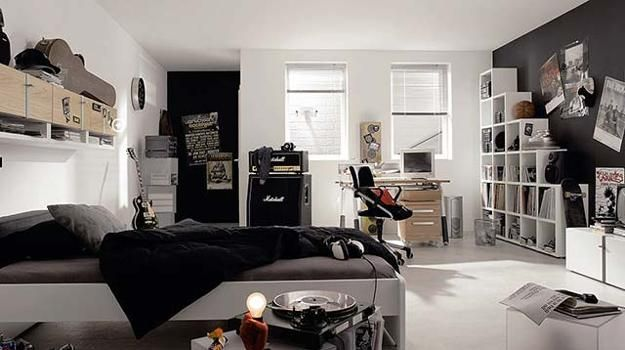 Modern Teenage Bedroom Design, Good Organization And Personal Teens Room  Decorations Create Inviting And Comfortable