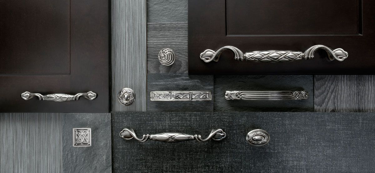 Keeler cabinet hardware - Tresse, Nouveou and Celtic collections ...