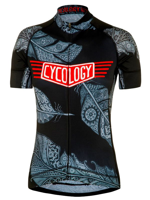Three Feathers women s cycling jersey from Cycology.  cycology ... 51f208fe2