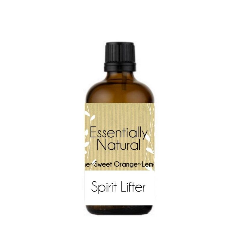 Spirit Lifter Aromatherapy Essential Oil Blend