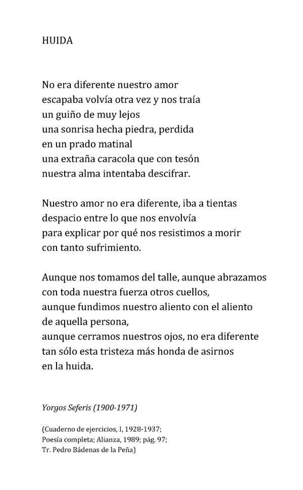 Yorgos Seferis Poemas Frases Y Poemas Y Frases