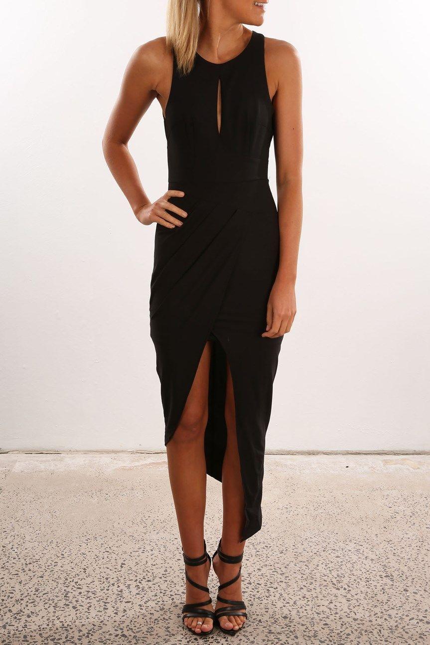 Can We Dance Dress Black | Women's | Jean Jail #weddingguestdress