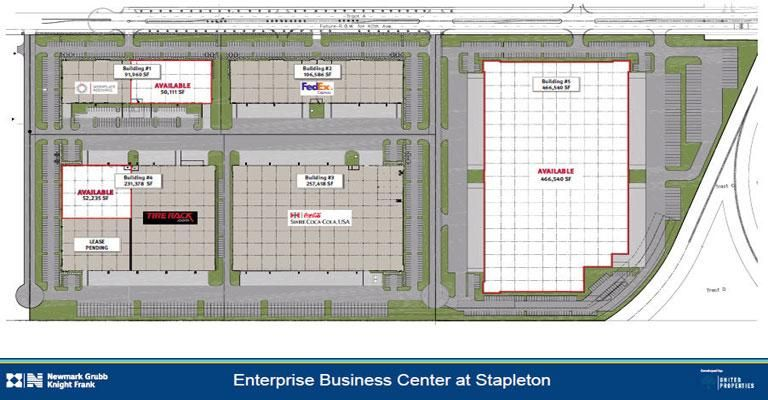 Enterprise Business Center at Stapleton: United Properties purchases more land #BusinessReady